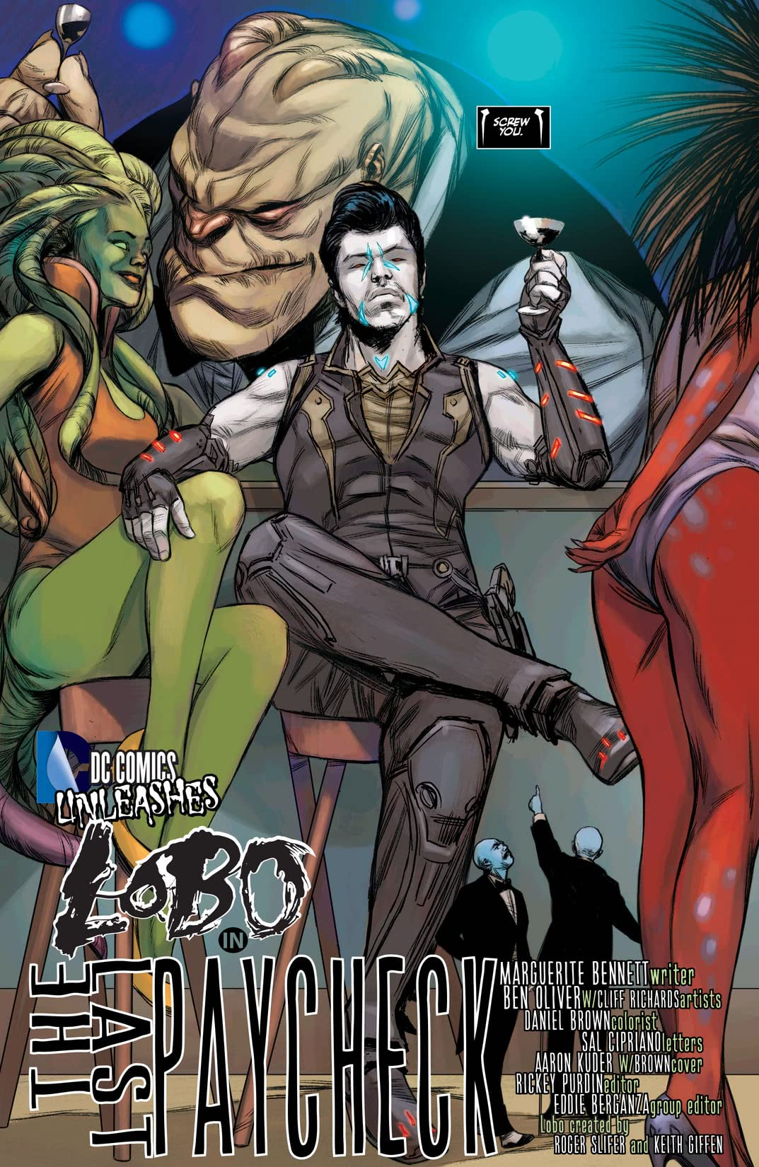 Justice League (2011-2016) #23.2: Featuring Lobo