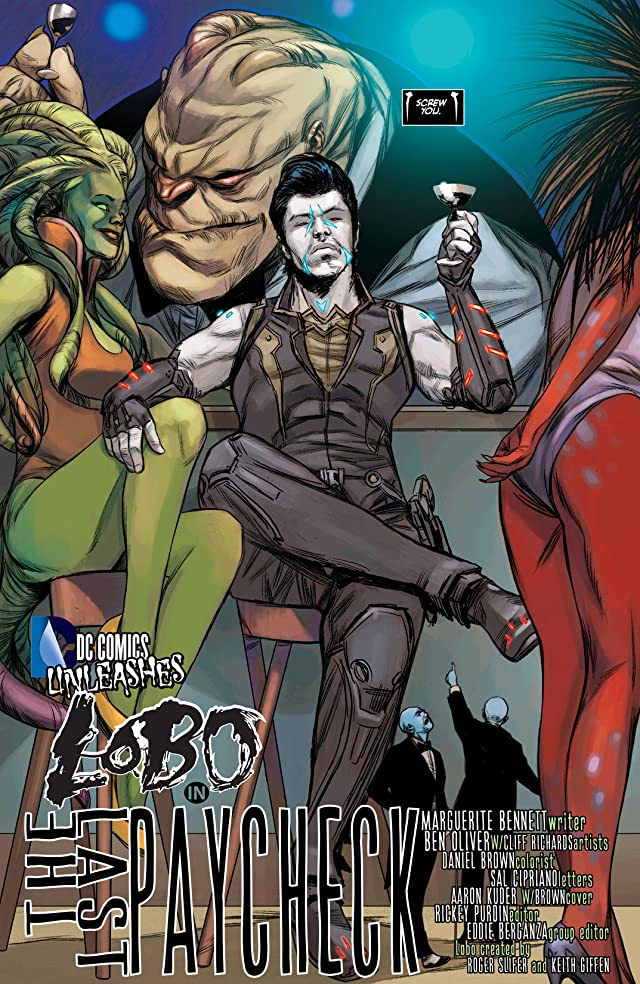click for super-sized previews of Justice League (2011-) #23.2: Featuring Lobo