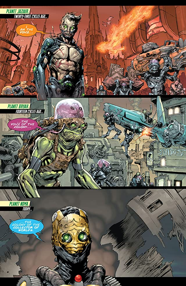 click for super-sized previews of Superman (2011-) #23.2: Featuring Brainiac