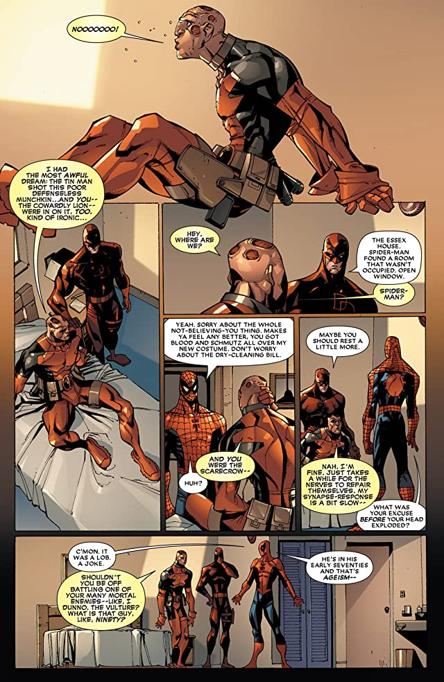 click for super-sized previews of Deadpool: Suicide Kings #4