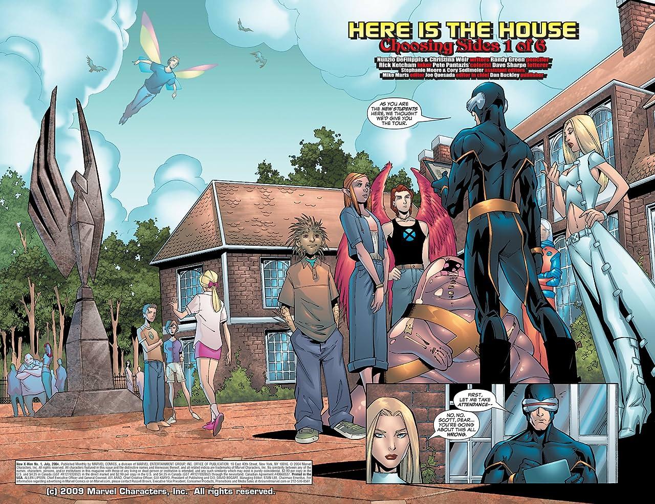 New X-Men (2004-2008) #1