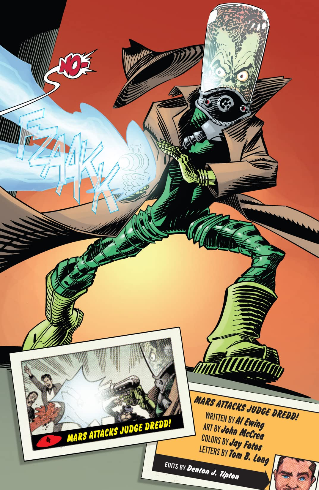 Mars Attacks Judge Dredd #1 (of 4)
