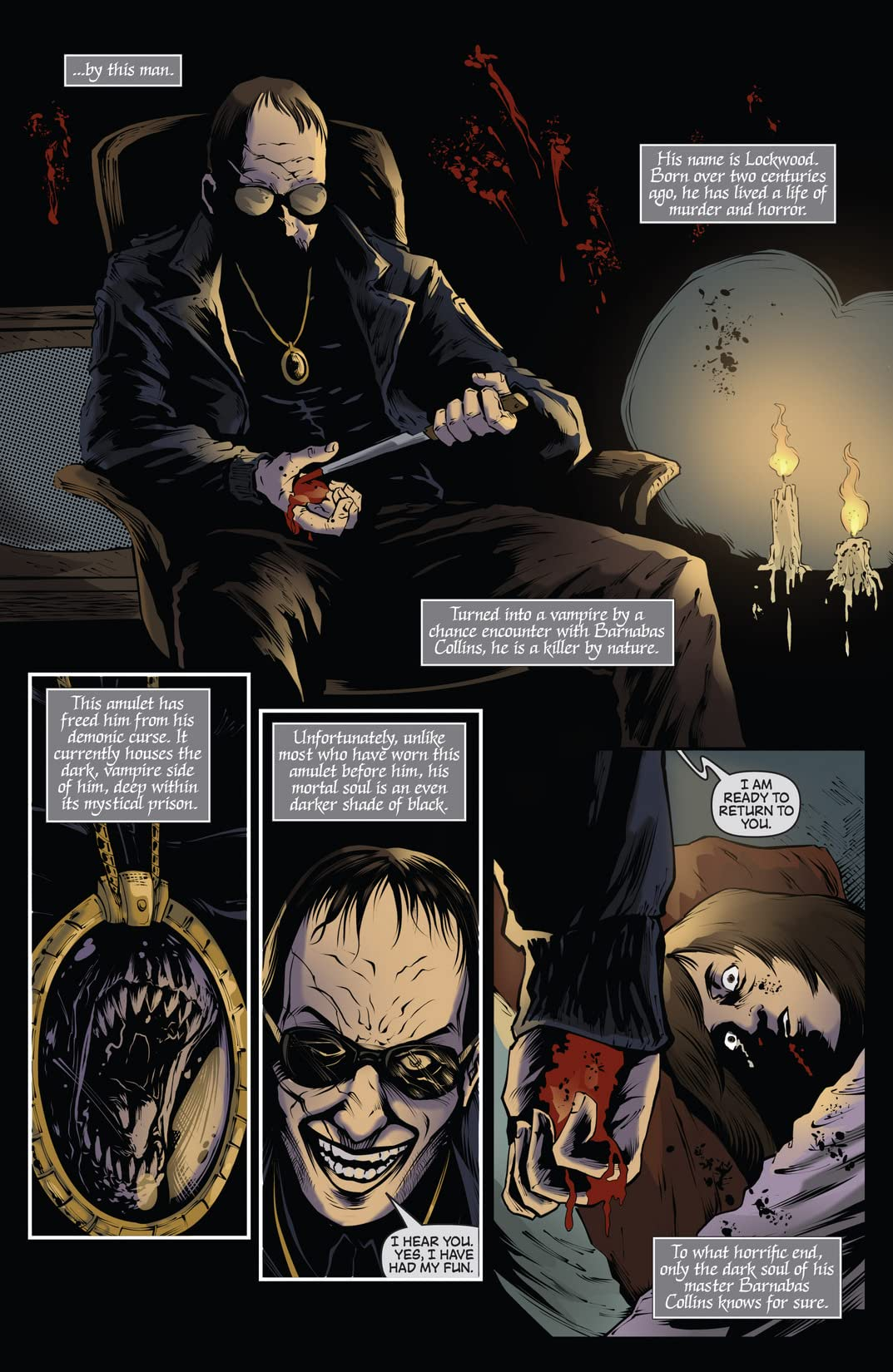 Dark Shadows (Ongoing) #20