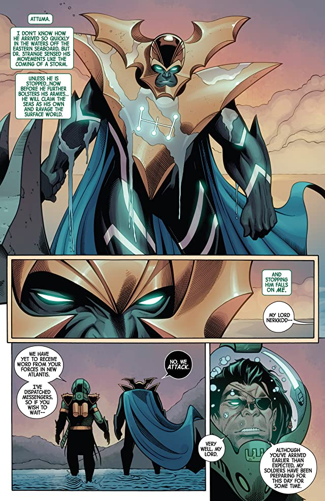 click for super-sized previews of Fear Itself: The Deep #4