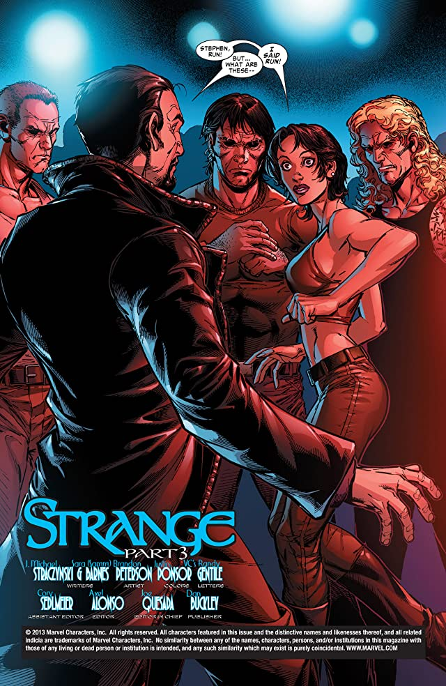 click for super-sized previews of Strange (2004-2005) #3