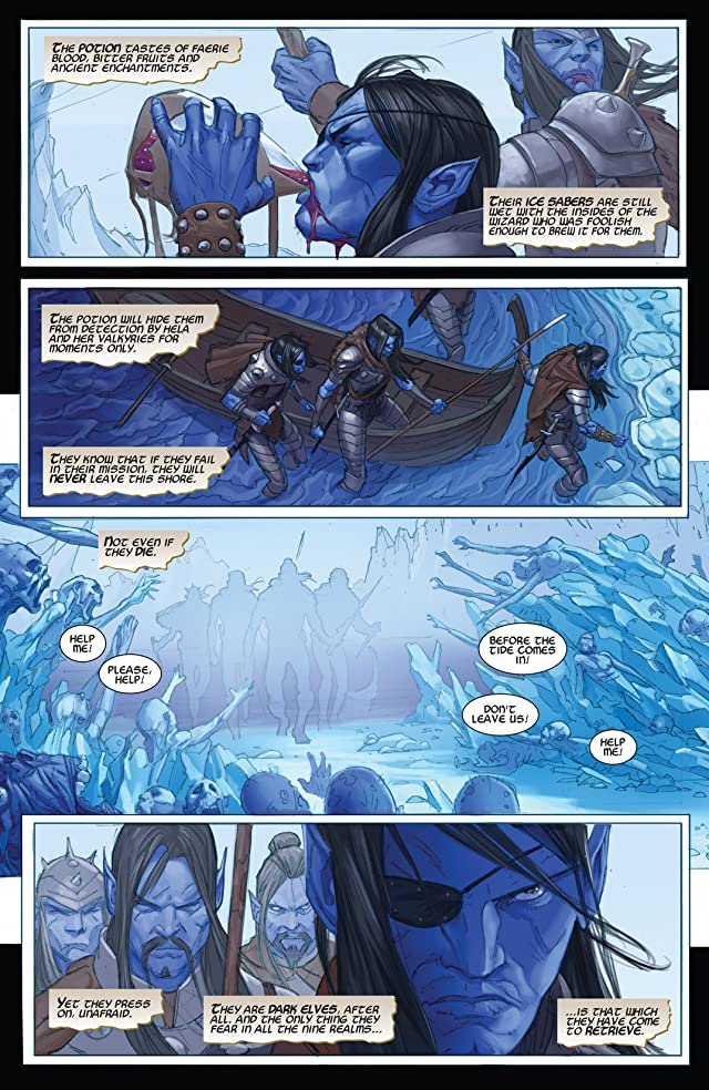 click for super-sized previews of Thor: God of Thunder #13