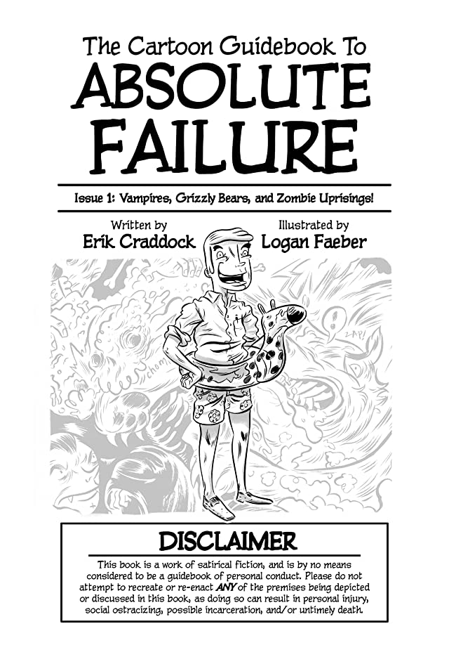 click for super-sized previews of Cartoon Guidebook to Absolute Failure #1