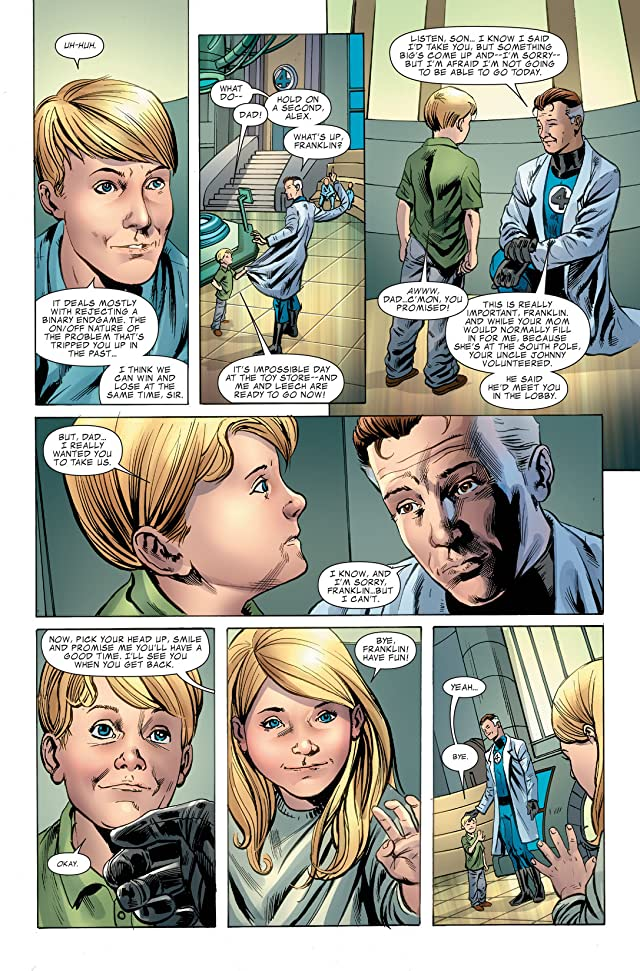 click for super-sized previews of Fantastic Four (1998-2012) #580