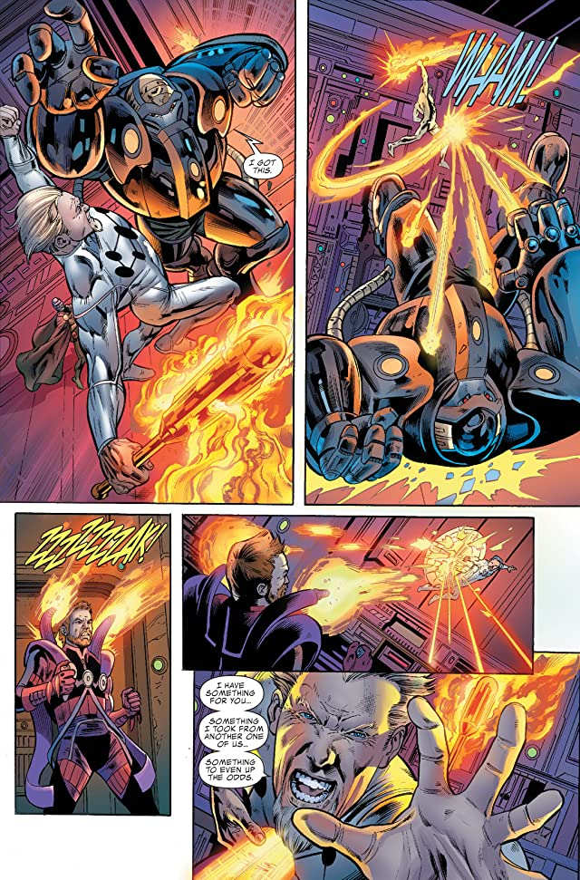 click for super-sized previews of Fantastic Four (1998-2012) #582