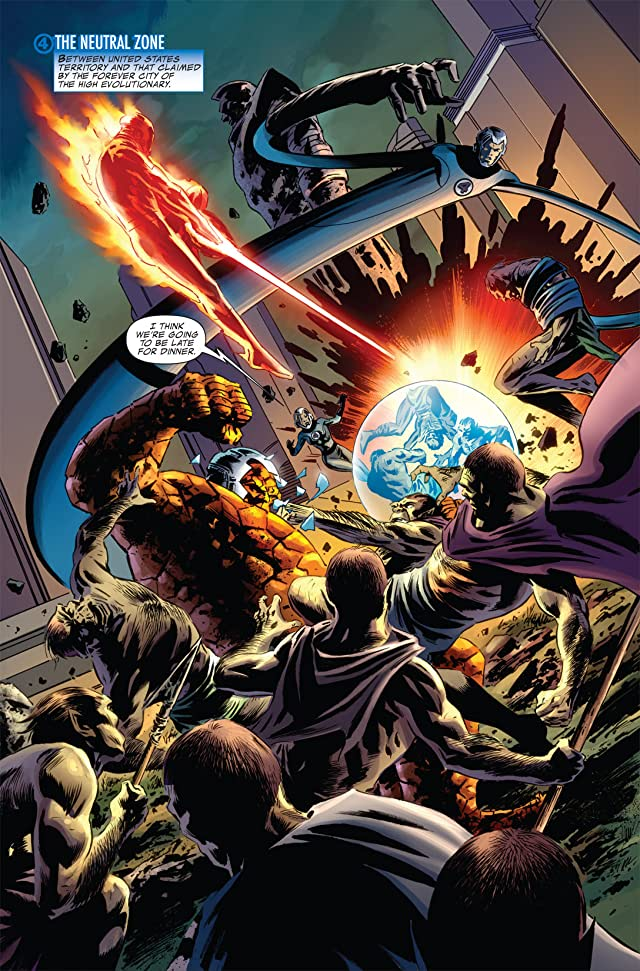 click for super-sized previews of Fantastic Four (1998-2012) #583