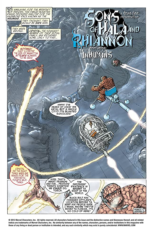 click for super-sized previews of Inhumans (2000) #2