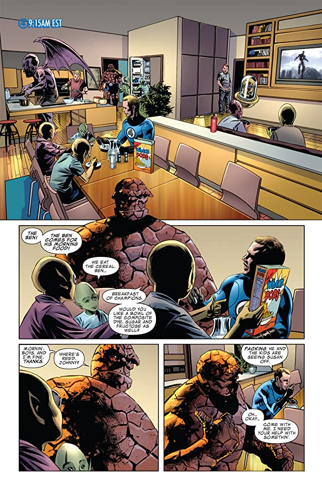 click for super-sized previews of Fantastic Four (1998-2012) #584