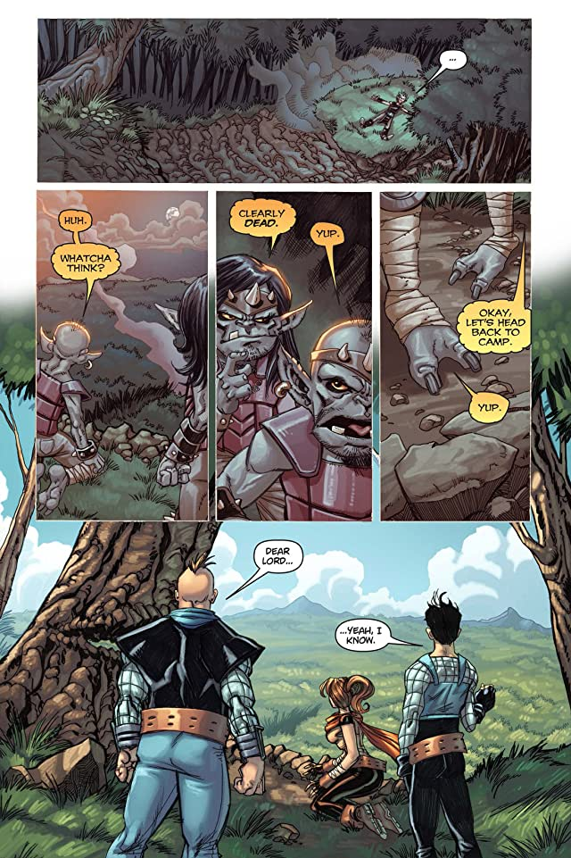 click for super-sized previews of Skyward #3