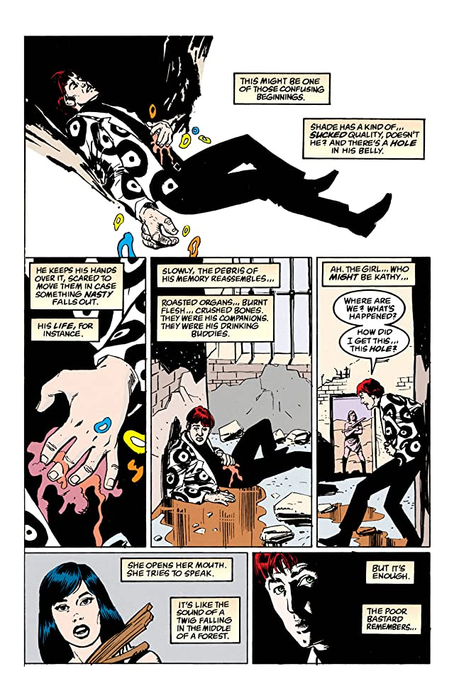 click for super-sized previews of Shade, the Changing Man (1990-1996) #53