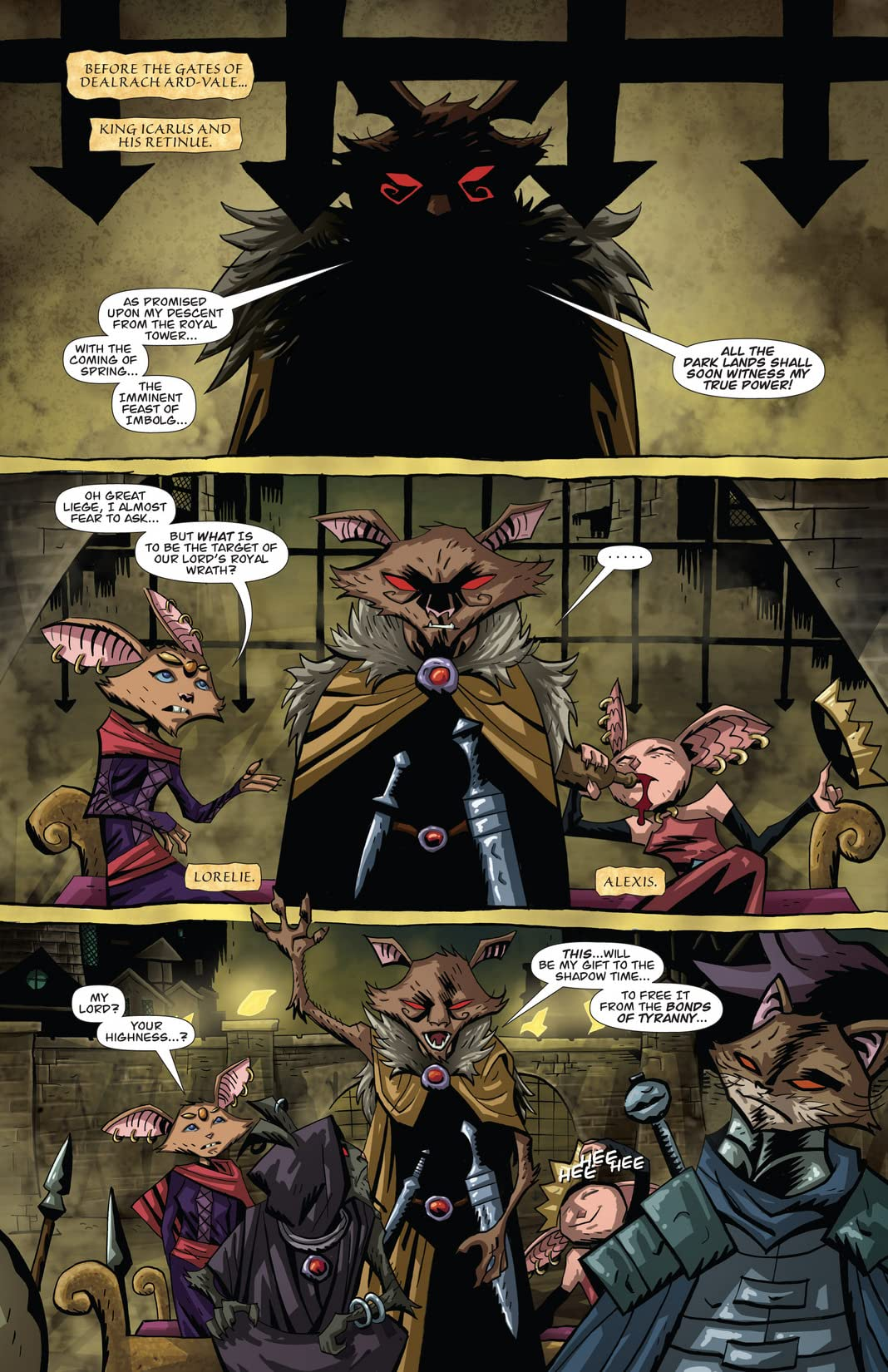 The Mice Templar Vol. 4: Legend #7