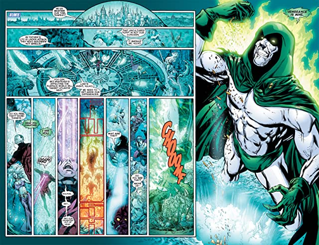 click for super-sized previews of Infinite Crisis (2011) #3