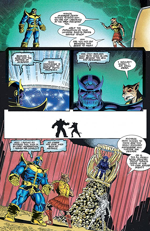 click for super-sized previews of Thanos Quest #1