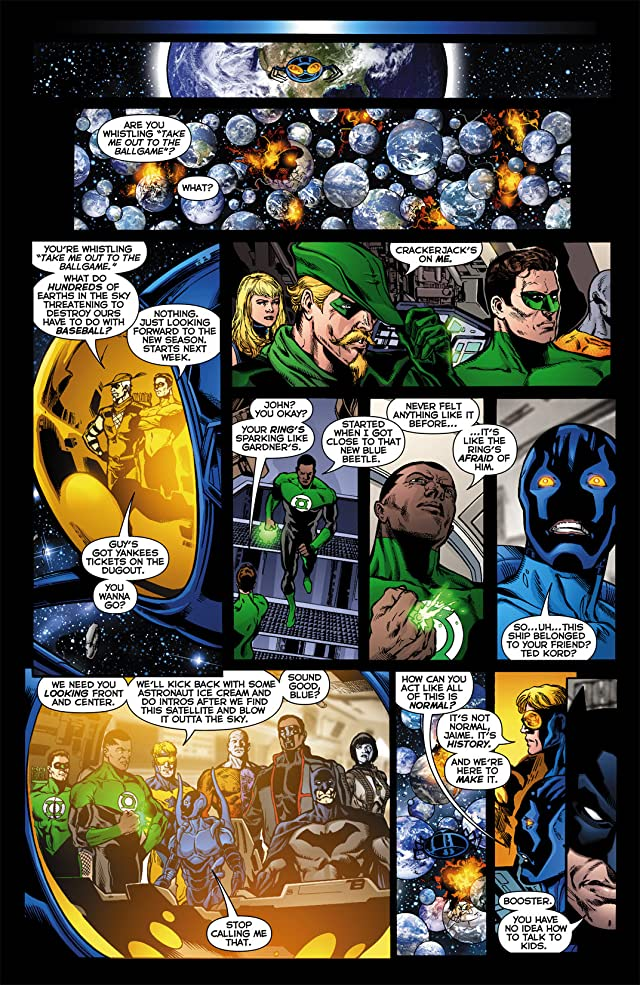 click for super-sized previews of Infinite Crisis (2011) #6