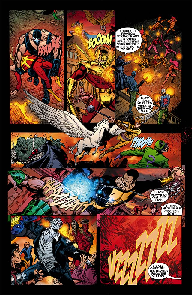 click for super-sized previews of Infinite Crisis (2011) #7