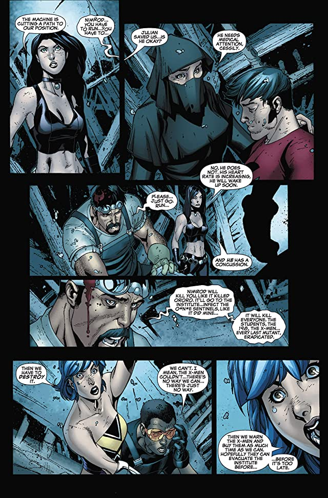 click for super-sized previews of New X-Men (2004-2008) #31