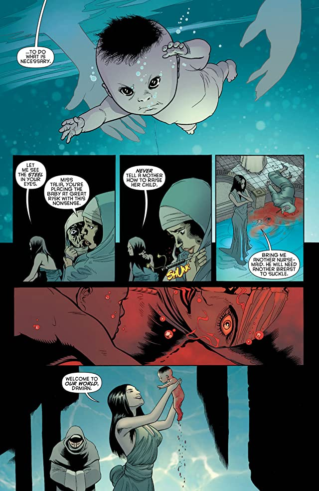 click for super-sized previews of Batman and Robin (2011-2015) Vol. 2: Pearl