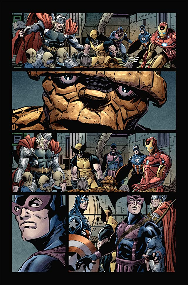 click for super-sized previews of Fantastic Four (1998-2012) #588