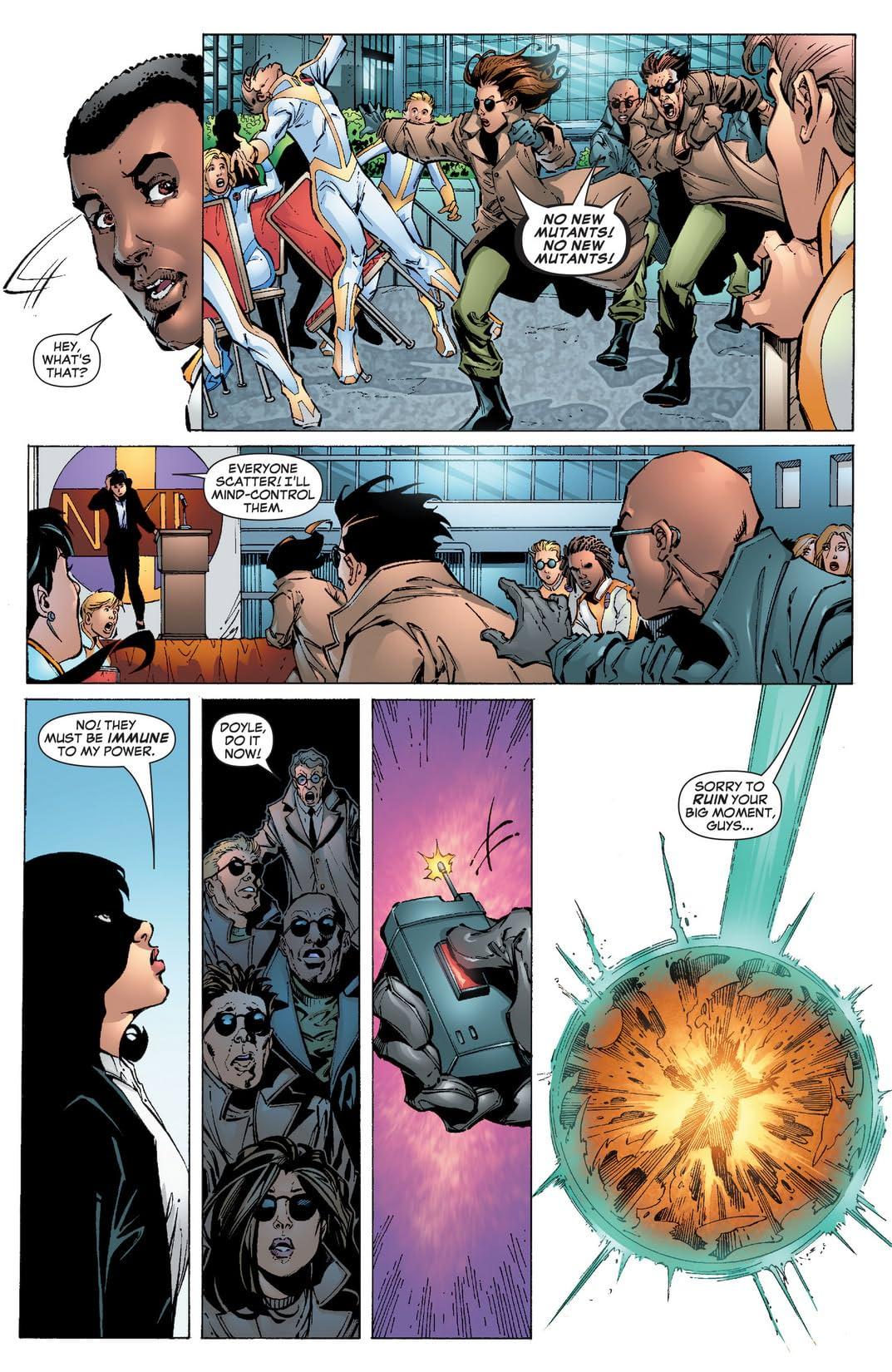 New X-Men (2004-2008) #16