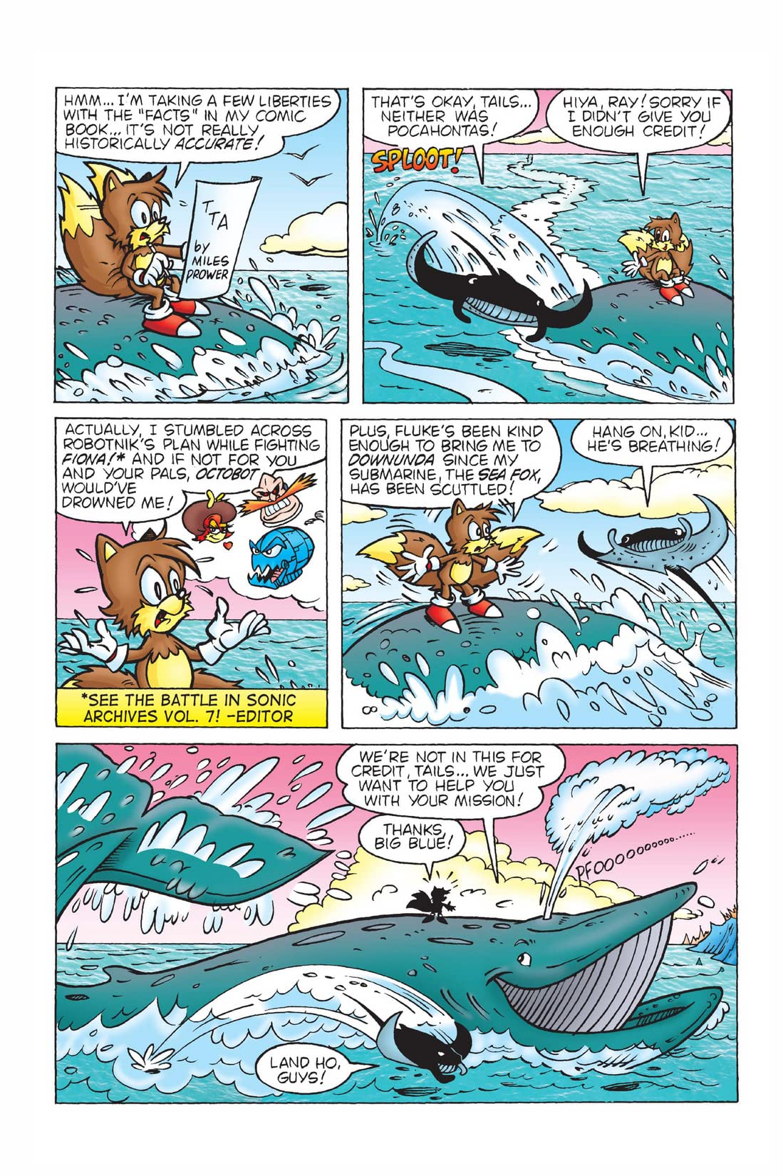 Sonic the Hedgehog's Buddy Tails #2
