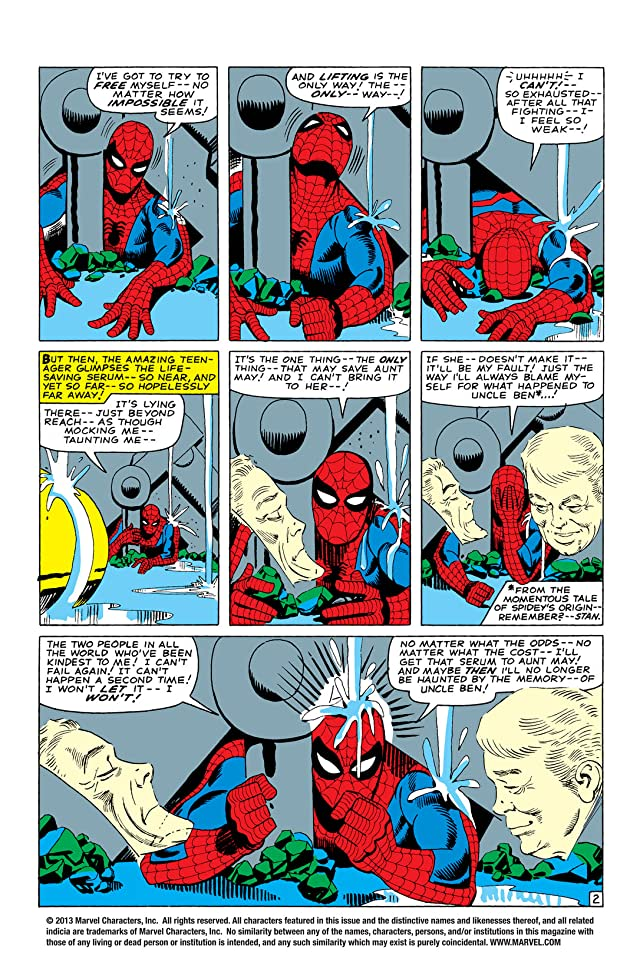 click for super-sized previews of Amazing Spider-Man (1963-1998) #33