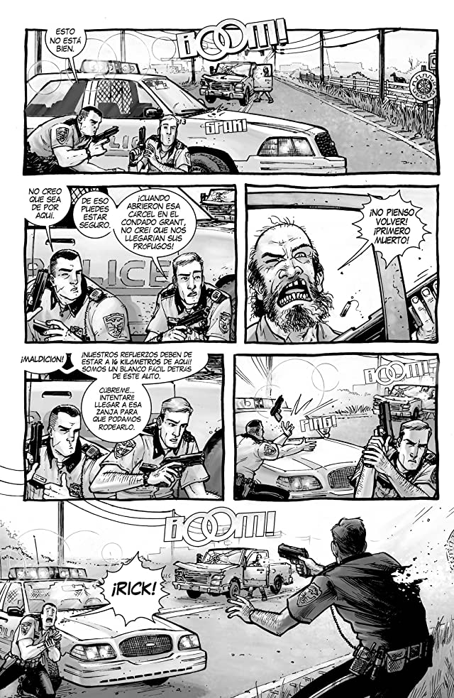 click for super-sized previews of The Walking Dead (Spanish) Vol. 1: Dias Pasados