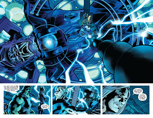 click for super-sized previews of Fantastic Four (1998-2012) #561
