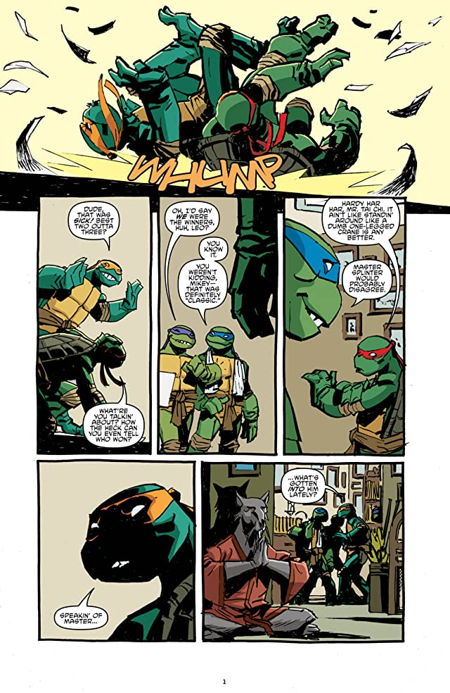 click for super-sized previews of Teenage Mutant Ninja Turtles #13