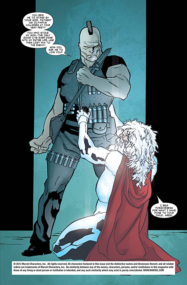 click for super-sized previews of Ares (2006) #3 (of 5)