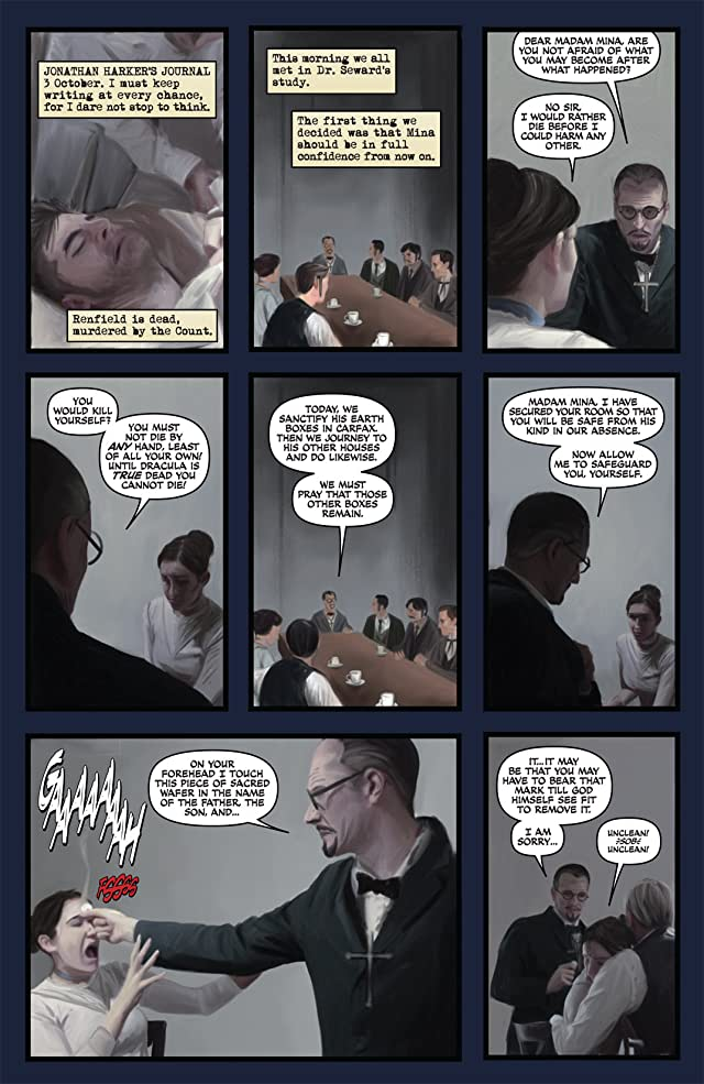 click for super-sized previews of The Complete Dracula #5 (of 5)