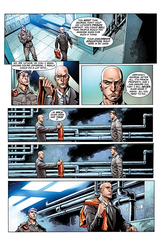 click for super-sized previews of Action Comics (2011-) #23.3: Featuring Lex Luthor