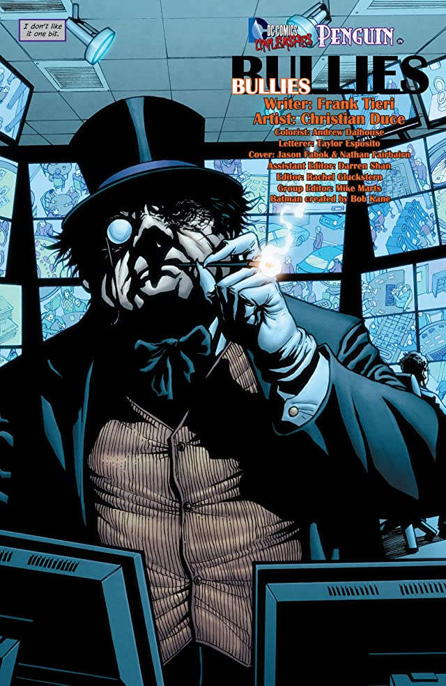Batman (2011-) #23.3: Featuring Penguin