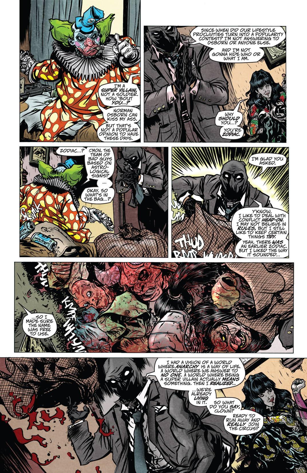 Dark Reign: Zodiac #1 (of 3)