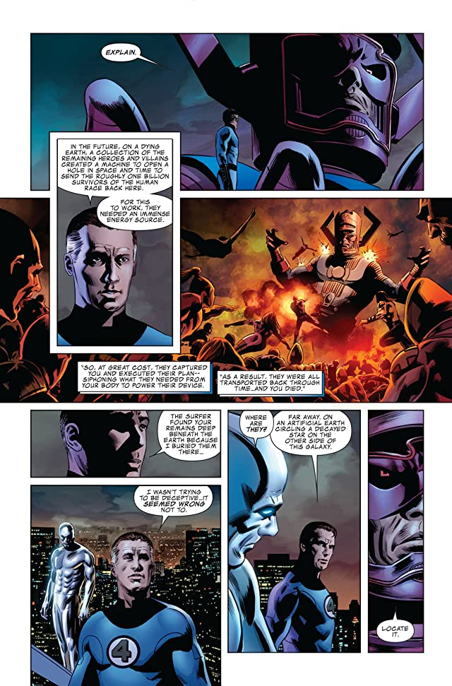 click for super-sized previews of Fantastic Four (1998-2012) #585