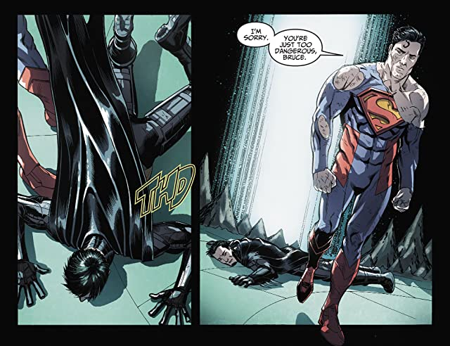 click for super-sized previews of Injustice: Gods Among Us (2013) #36