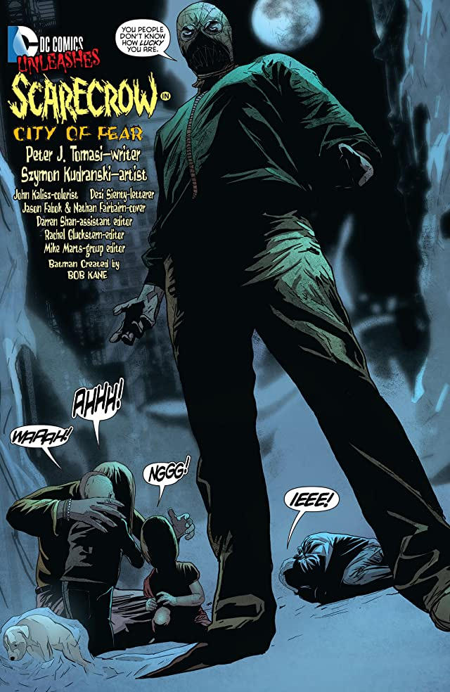 click for super-sized previews of Detective Comics (2011-) #23.3: Featuring Scarecrow