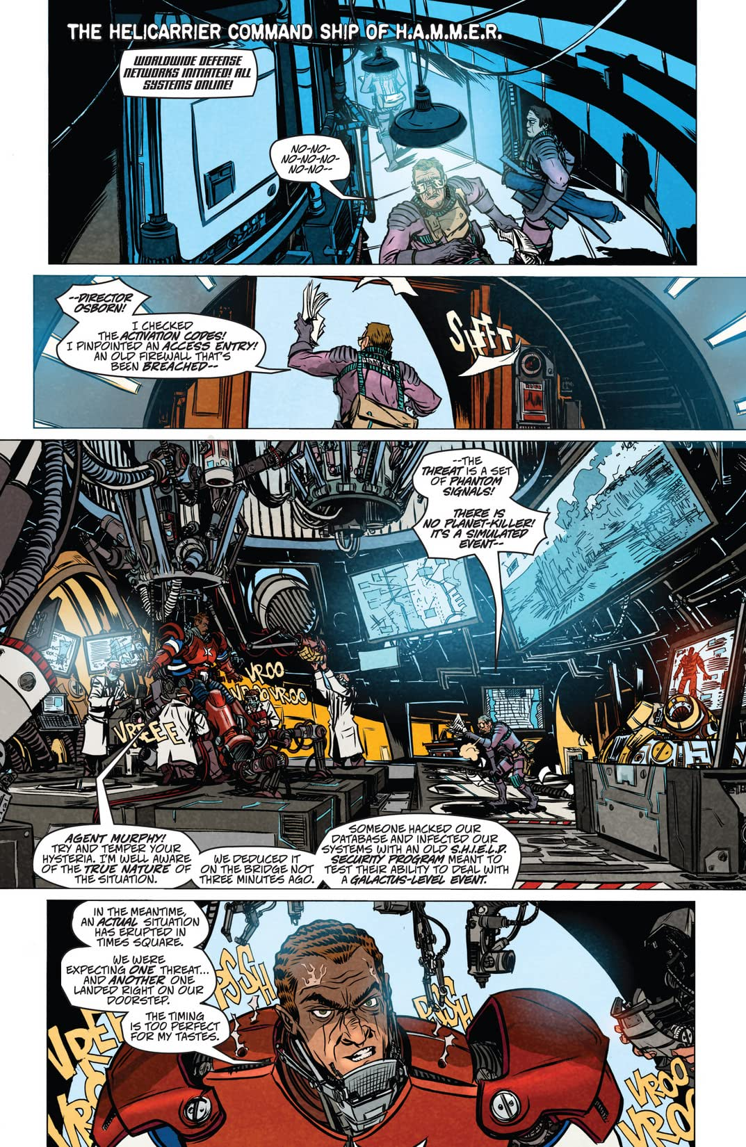 Dark Reign: Zodiac #3 (of 3)