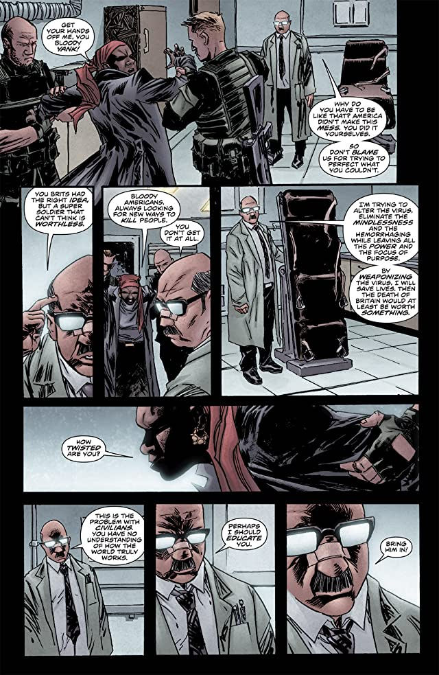 click for super-sized previews of 28 Days Later #12