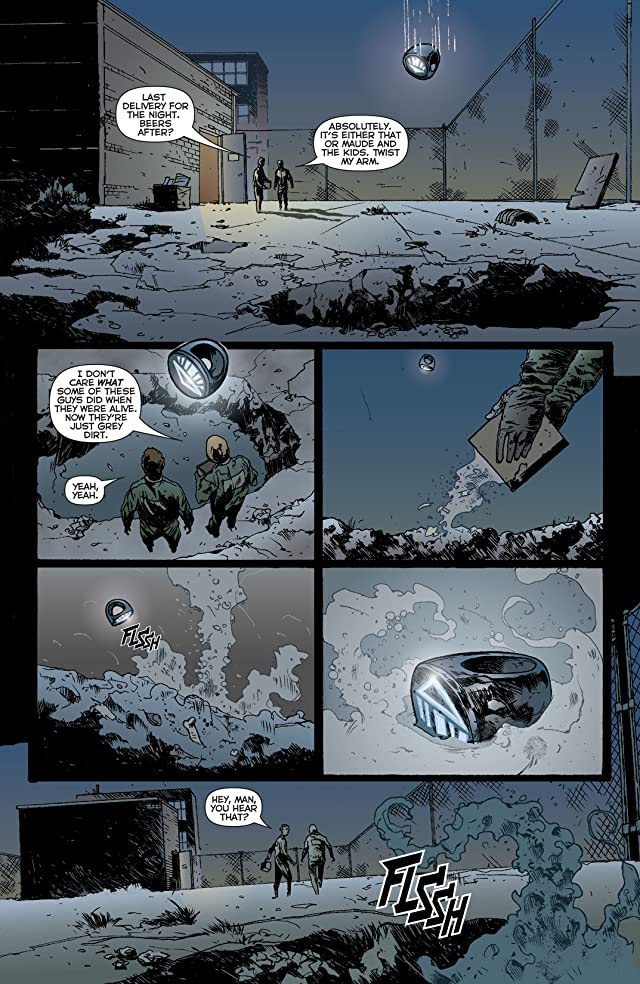 click for super-sized previews of Green Lantern (2011-) #23.3: Featuring Black Hand