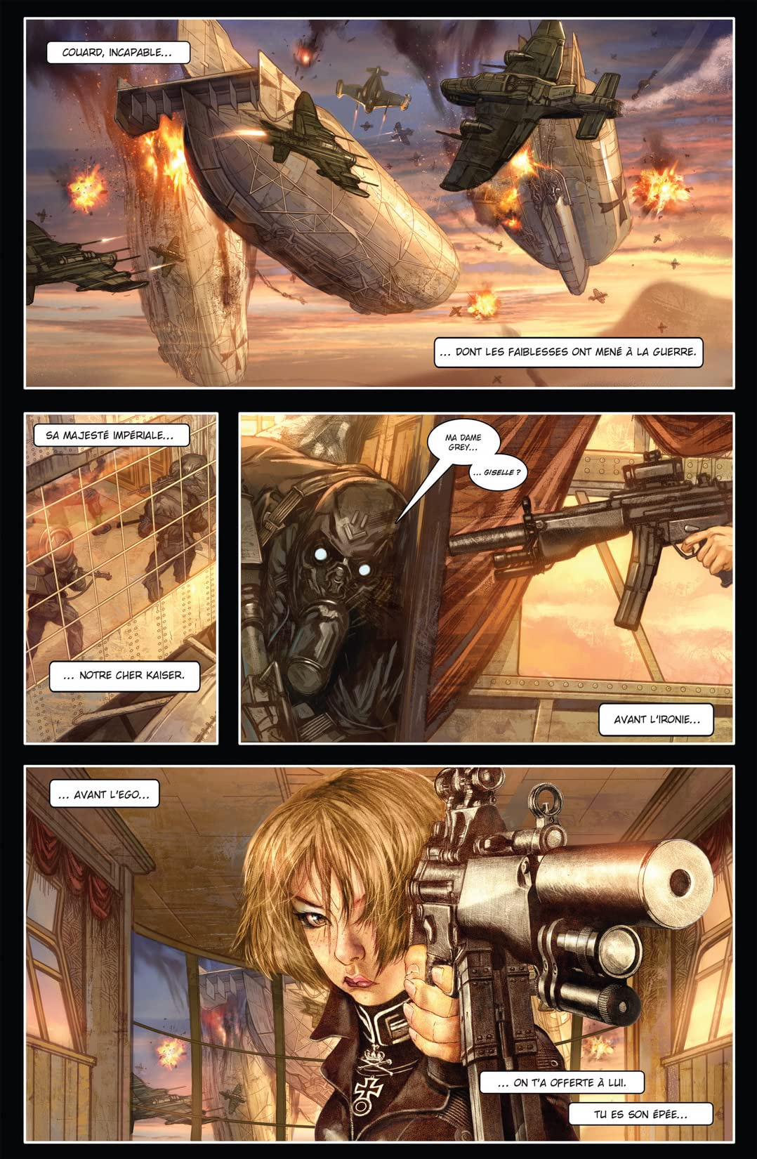 Carbon Grey Vol. 1: La prophétie de Gottfaust