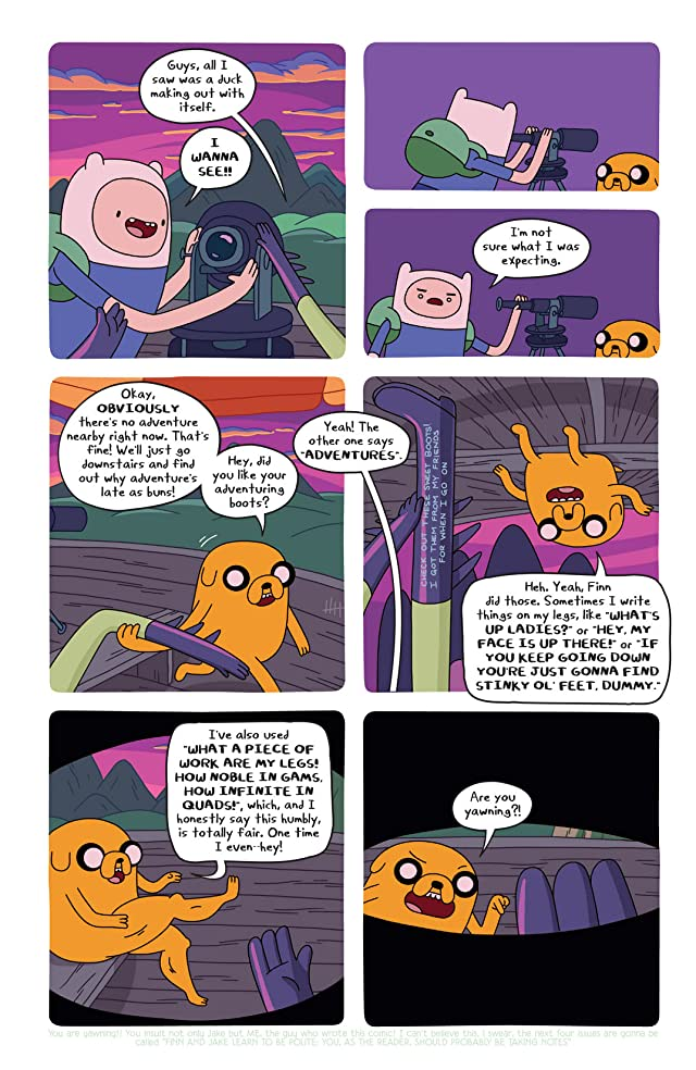 click for super-sized previews of Adventure Time #20