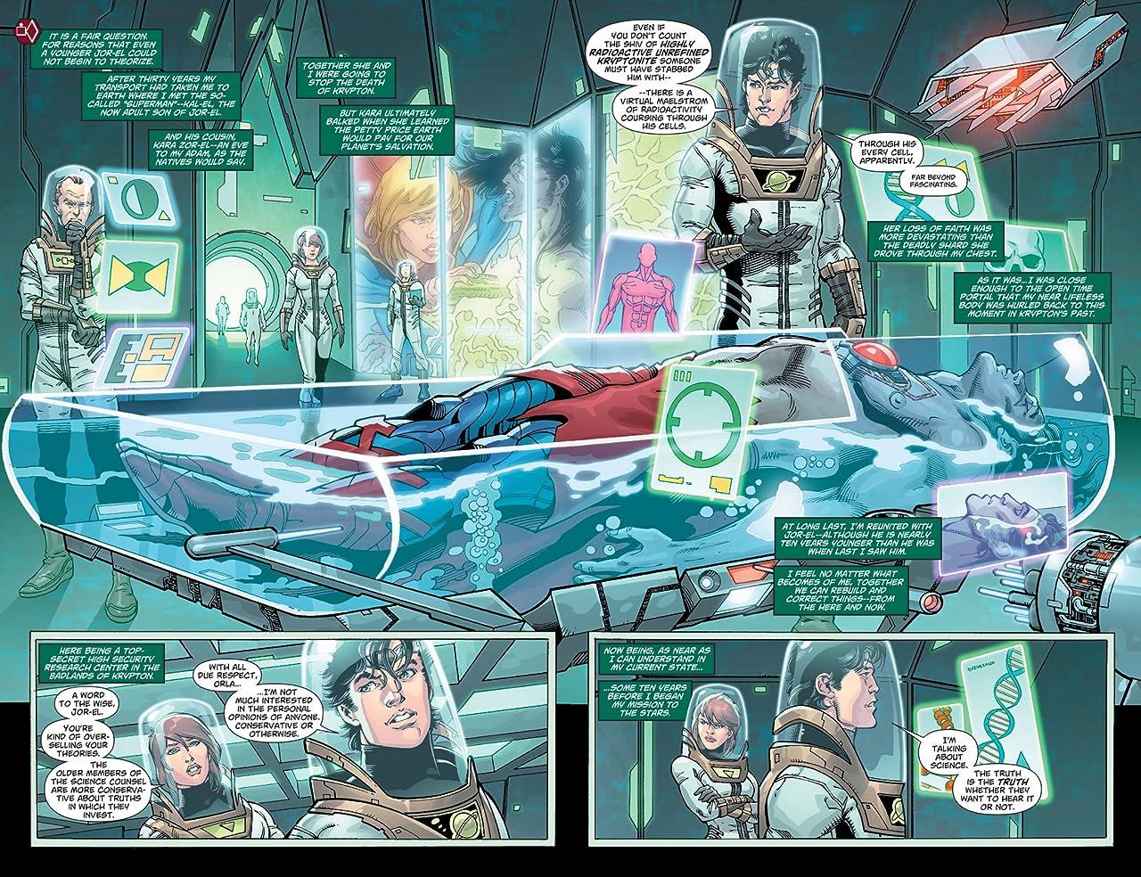 Superman (2011-2016) #23.3: Featuring H'el