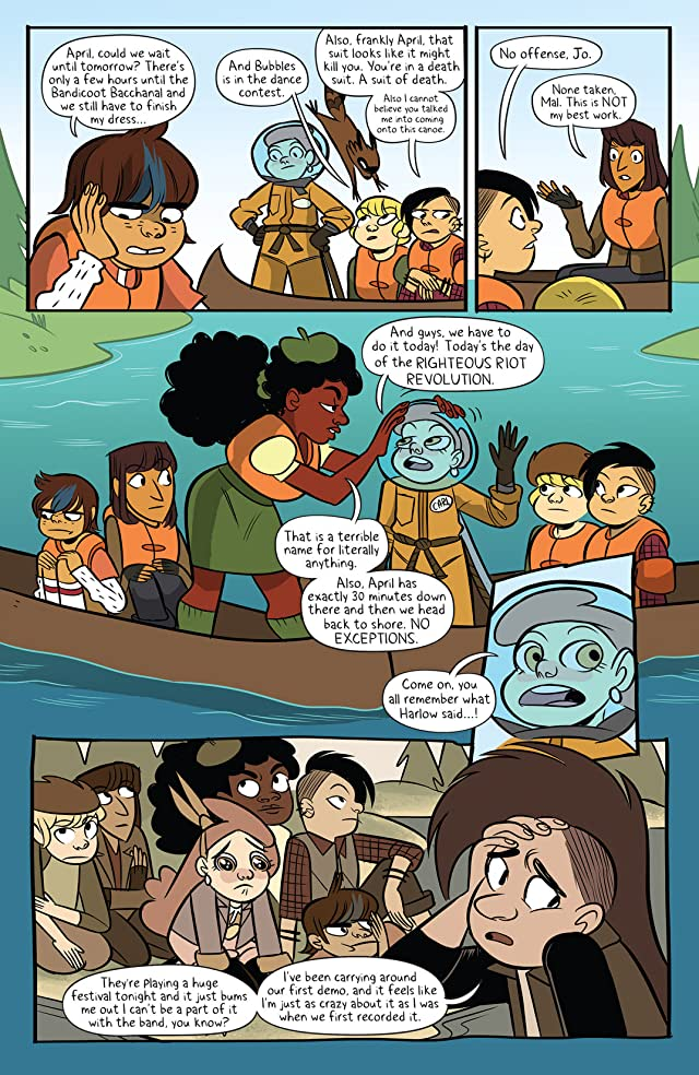 click for super-sized previews of Lumberjanes #19
