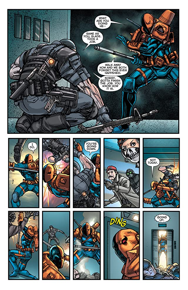 click for super-sized previews of Teen Titans (2011-2014) #23.2: Featuring Deathstroke