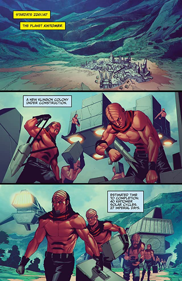 click for super-sized previews of Star Trek (2011-) #25