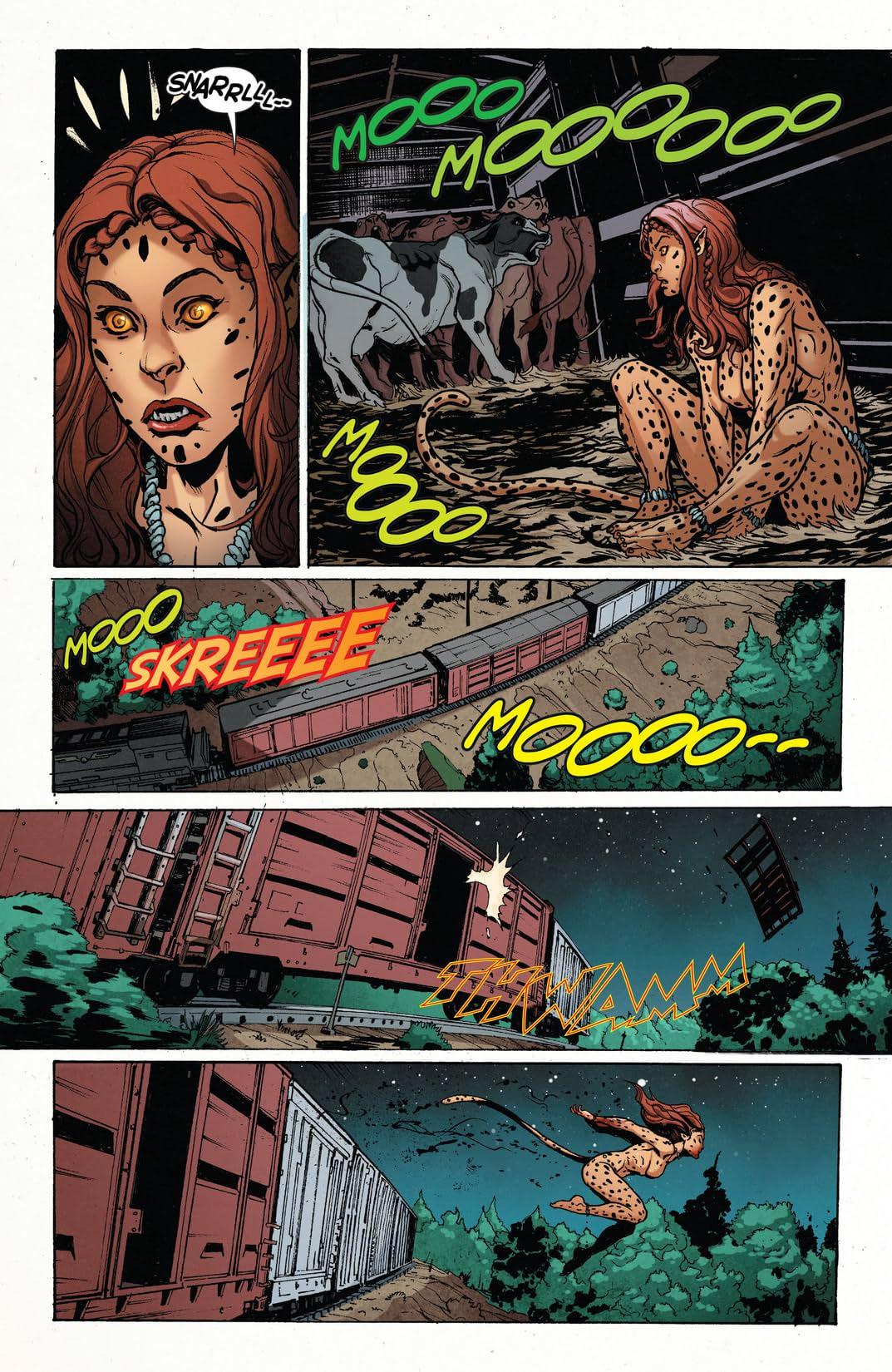 Wonder Woman (2011-) #23.1: Featuring Cheetah